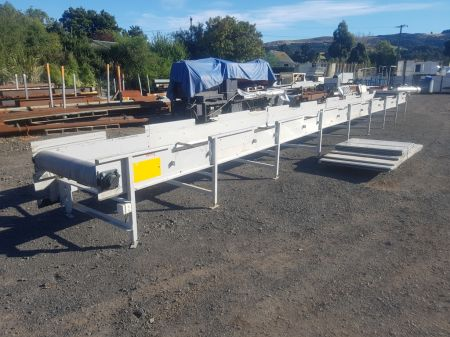 14 Metre Long Steel Framed Conveyor