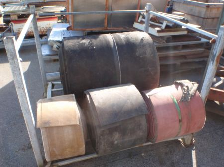 Used Conveyor Belting, Assorted Sizes and Lengths