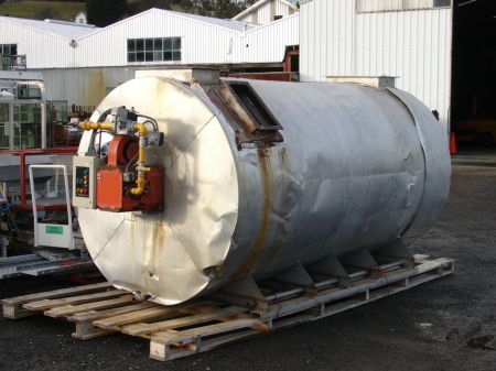 Natural Gas Burner With Hot Air Heat Exchanger W