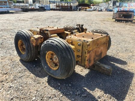 Atlas Copco Air Powered Wheel Set