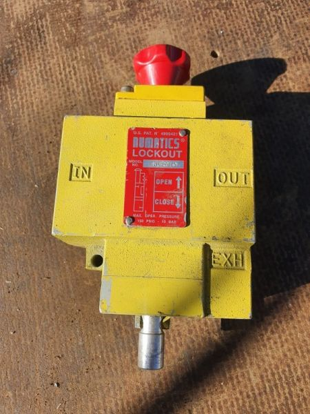 Numatics Airline Lockout Valve
