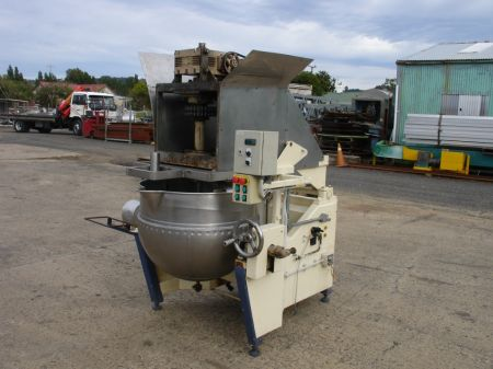 Large Mixer with Jacketed Stainless Steel Bowl