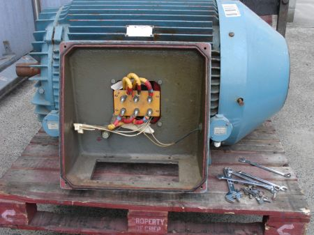 CMG motor electrical box