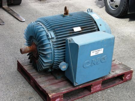CMG motor side view