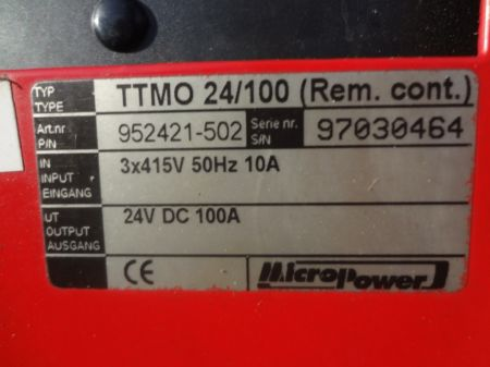 24Volt DC 100Amp Battery Smart Charger