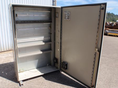 Steel Electrical Cabinet 1.2m x 800mm x 300mm With Cooling Fans