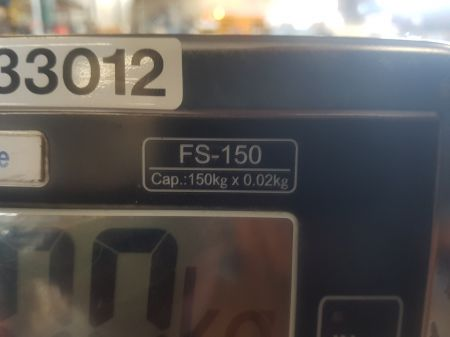 150kg Digital Scales On Trolley