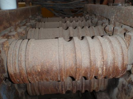 steel bar straightening rolls