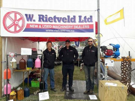 Tom, Adam and Daniel at the 2018 Southern Field Days