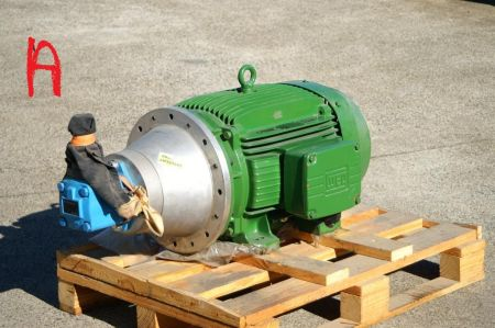Vickers pump and motor