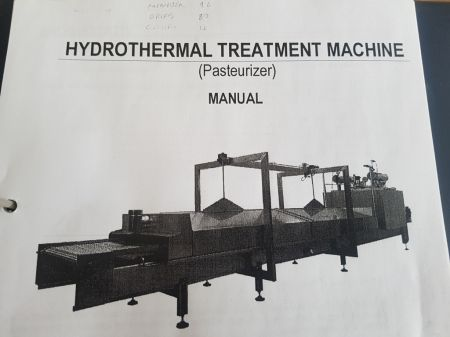 Hydrothermal Treatment Machine (Pasturiser)