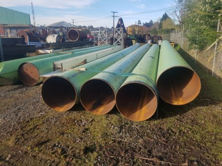 760mm O/D Steel Pipes