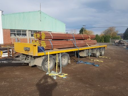 100mm NB x 3.6mm x 6.5m Long Pipes