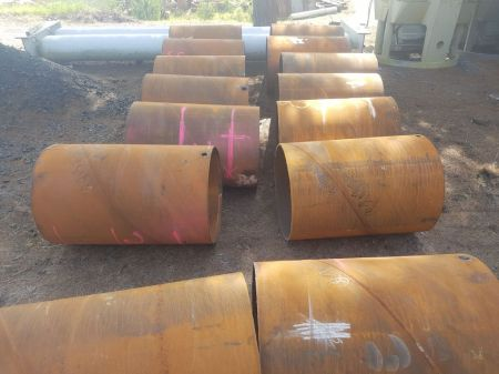 914mm O/D Steel Pipes