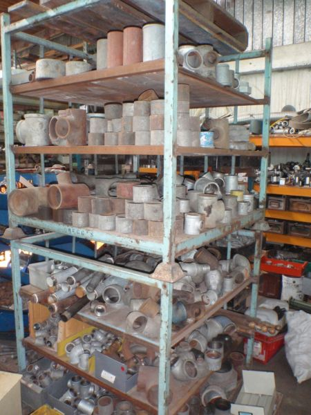 Large Range of NEW and Used BSP Pipe Fittings