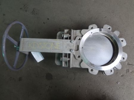 Keystone 250mm S/S Knife Gate Valve