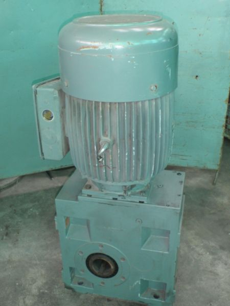 Lenze Geared motor side view