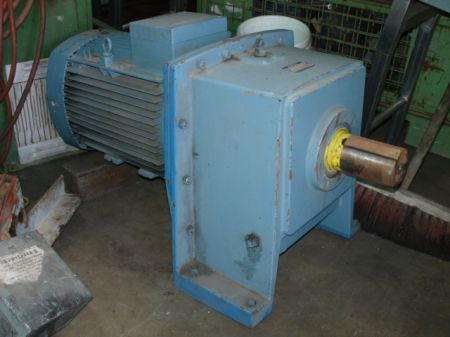 ASEA geared motor side view