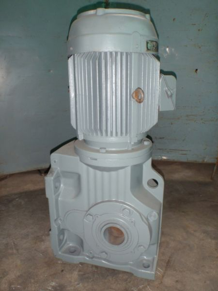 SEW 18.5kw geared motor side view
