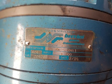 WEG/Brevini 2.2Kw Geared Motors