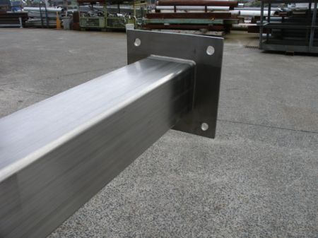 150mm Stainless Steel SHS Legs/Stands