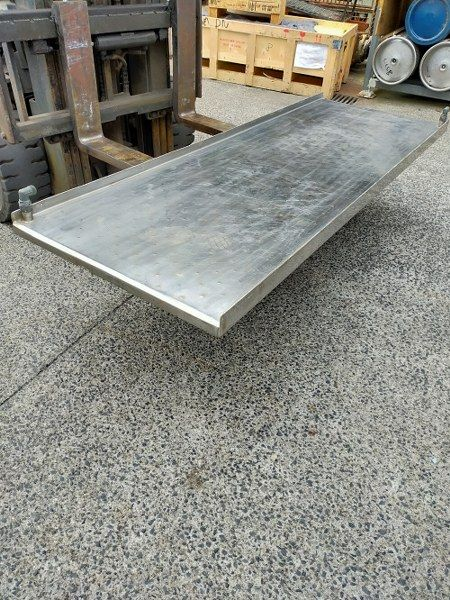 Jacketed Stainless Steel Table Top