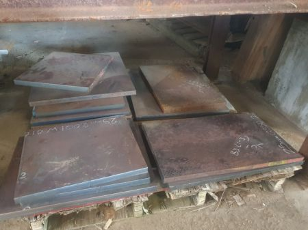 Assorted New Steel Plate Offcuts
