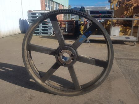 1000mm Diameter B Section Pulley