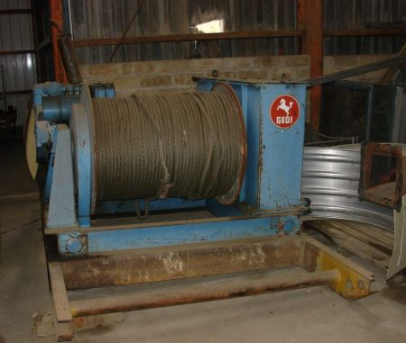 Gedi winch Rope Drum