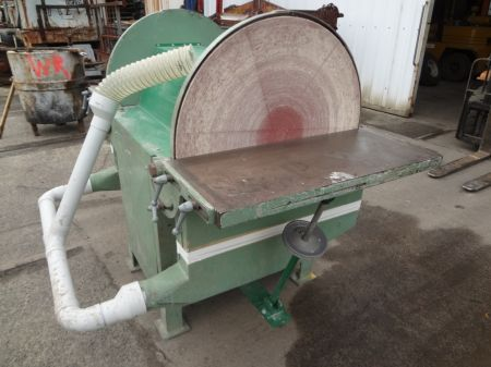 Large Double Ended Disc Sander